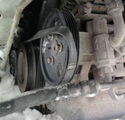 Замена ремня генератора Форд Транзит дизель