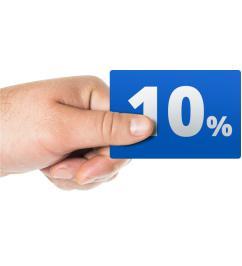 Скидки на работы от 10%