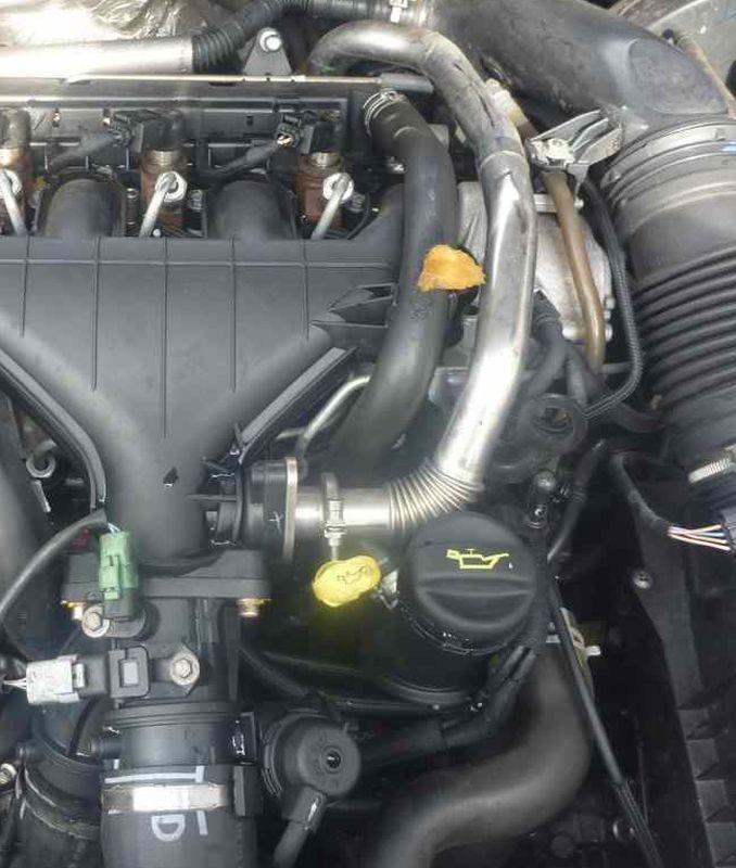 Замена масла на дизеле форд
